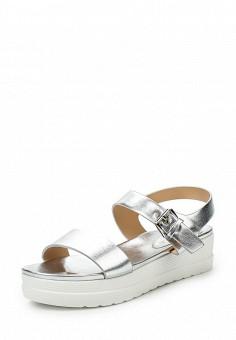 Босоножки, Catisa, цвет: серебряный. Артикул: CA072AWTFQ12. Женская обувь / Босоножки