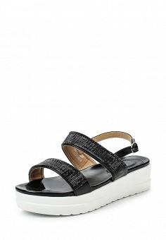 Босоножки, Catisa, цвет: черный. Артикул: CA072AWTFQ14. Женская обувь / Босоножки