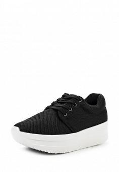 Кроссовки, Coco Perla, цвет: черный. Артикул: CO039AWIRP41. Женская обувь / Кроссовки и кеды / Кроссовки