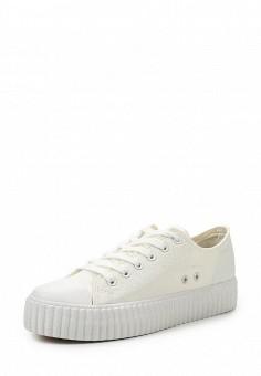 Кеды, Coolway, цвет: белый. Артикул: CO047AWRWR36. Женская обувь / Кроссовки и кеды