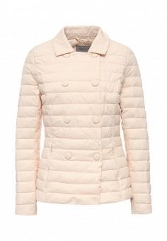 Куртка утепленная, Conso Wear, цвет: бежевый. Артикул: CO050EWQUO73. Женская одежда / Верхняя одежда / Демисезонные куртки