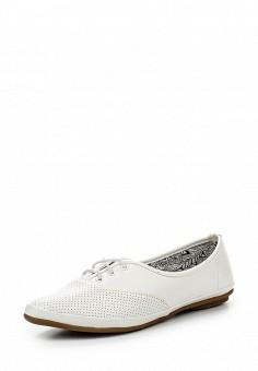 Ботинки, Der Spur, цвет: белый. Артикул: DE034AWQOO83. Женская обувь / Ботинки