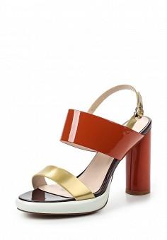 Босоножки, Dino Ricci Select, цвет: оранжевый. Артикул: DI034AWQYW43. Женская обувь / Босоножки