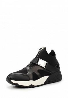 Кроссовки, Diesel, цвет: черный. Артикул: DI303AWMKW32. Женщинам / Обувь / Кроссовки и кеды