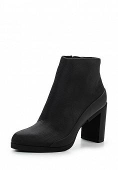 Ботильоны, DKNY, цвет: черный. Артикул: DK001AWPVH98. Премиум / Обувь