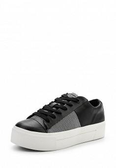 Кеды, DKNY, цвет: черный. Артикул: DK001AWPVI08. Премиум / Обувь