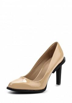 Туфли, DKNY, цвет: бежевый. Артикул: DK001AWPVI15. Премиум / Обувь