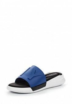 Шлепанцы, DKNY, цвет: синий. Артикул: DK001AWROY37. Премиум / Обувь