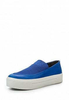 Слипоны, DKNY, цвет: синий. Артикул: DK001AWROY41. Премиум / Обувь