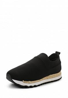 Кроссовки, DKNY, цвет: черный. Артикул: DK001AWROY46. Женская обувь / Кроссовки и кеды