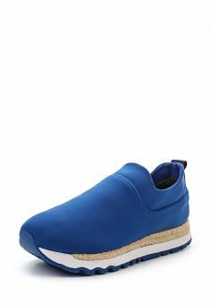 Кроссовки, DKNY, цвет: синий. Артикул: DK001AWROY48. Женская обувь / Кроссовки и кеды