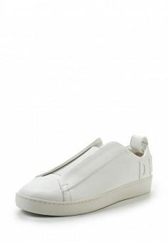Кеды, DKNY, цвет: белый. Артикул: DK001AWVBF27. Женская обувь / Кроссовки и кеды