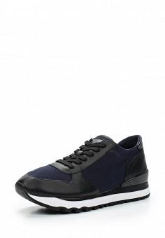 Кроссовки, DKNY, цвет: синий. Артикул: DK001AWVBF51. Женская обувь / Кроссовки и кеды