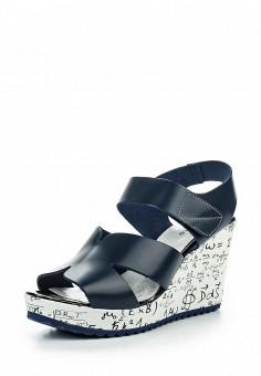 Босоножки, D.Moro, цвет: синий. Артикул: DM001AWROV39. Женская обувь / Босоножки