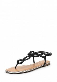 Сандалии, Dorothy Perkins, цвет: черный. Артикул: DO005AWSVF47. Женская обувь / Сандалии