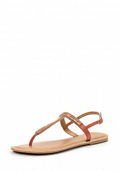 Сандалии, Dorothy Perkins, цвет: коралловый. Артикул: DO005AWTFT64. Женская обувь / Сандалии