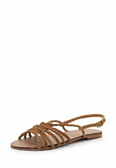 Сандалии, Dorothy Perkins, цвет: коричневый. Артикул: DO005AWUFJ26. Женская обувь / Сандалии