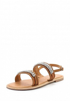Сандалии, Dorothy Perkins, цвет: коричневый. Артикул: DO005AWVHV67. Женская обувь / Сандалии