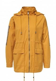 Парка, Dorado, цвет: желтый. Артикул: DO035EWRUT22. Женская одежда / Верхняя одежда / Парки
