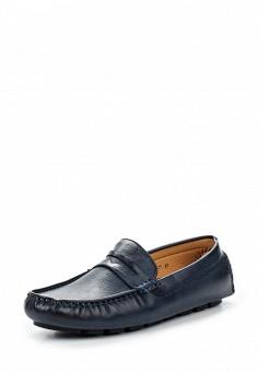 Мокасины, Elong, цвет: синий. Артикул: EL025AMTJL07. Мужская обувь / Мокасины и топсайдеры