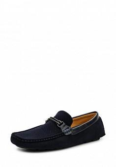 Мокасины, Elong, цвет: синий. Артикул: EL025AMTJL13. Мужская обувь / Мокасины и топсайдеры