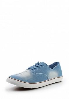 Кеды, Elong, цвет: голубой. Артикул: EL025AMTOU07. Мужская обувь / Кроссовки и кеды