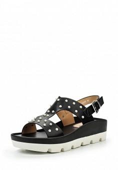 Босоножки, Elche, цвет: черный. Артикул: EL242AWSCS97. Женская обувь / Босоножки