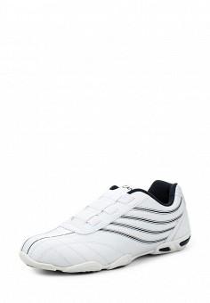Кроссовки, Escan, цвет: белый. Артикул: ES021AWMBH51. Женская обувь / Кроссовки и кеды / Кроссовки