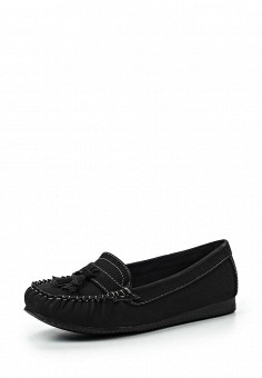 Мокасины, Exquily, цвет: черный. Артикул: EX003AWRNE44. Женская обувь / Мокасины и топсайдеры