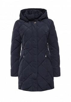 Куртка утепленная, FiNN FLARE, цвет: синий. Артикул: FI001EWKHE45. Женская одежда / Верхняя одежда / Пуховики и зимние куртки