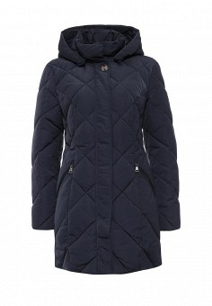 Куртка утепленная, FiNN FLARE, цвет: синий. Артикул: FI001EWKHE45. Женская одежда / Верхняя одежда