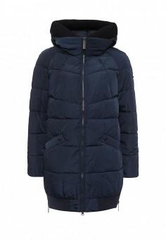 Куртка утепленная, FiNN FLARE, цвет: синий. Артикул: FI001EWKHE99. Женская одежда / Верхняя одежда