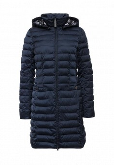 Куртка утепленная, FiNN FLARE, цвет: синий. Артикул: FI001EWKHF47. Женская одежда / Верхняя одежда