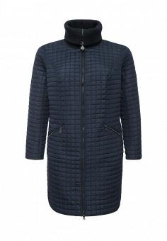 Куртка утепленная, FiNN FLARE, цвет: синий. Артикул: FI001EWKHF50. Женская одежда / Верхняя одежда