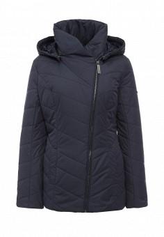 Куртка утепленная, FiNN FLARE, цвет: синий. Артикул: FI001EWKHF52. Женская одежда / Верхняя одежда