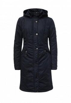 Куртка утепленная, FiNN FLARE, цвет: синий. Артикул: FI001EWKHF53. Женская одежда / Верхняя одежда