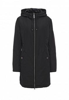 Куртка утепленная, FiNN FLARE, цвет: черный. Артикул: FI001EWKHG14. Женская одежда / Верхняя одежда