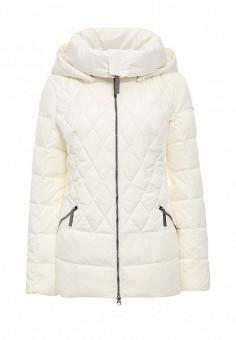 Куртка утепленная, FiNN FLARE, цвет: белый. Артикул: FI001EWKHG22. Женская одежда / Верхняя одежда