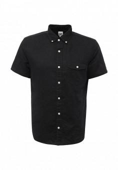 Рубашка, Gap, цвет: черный. Артикул: GA020EMQAM20. Мужская одежда / Рубашки