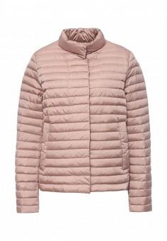 Пуховик, Geox, цвет: розовый. Артикул: GE347EWPCY89. Женская одежда / Верхняя одежда / Пуховики и зимние куртки