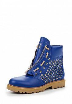 Ботинки, Grand Style, цвет: синий. Артикул: GR025AWQBK83. Женская обувь / Ботинки
