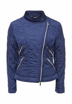Куртка утепленная, Husky, цвет: синий. Артикул: HU011EWQRR52. Женская одежда / Верхняя одежда / Демисезонные куртки