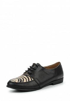 Ботинки, Ideal, цвет: черный. Артикул: ID005AWPSL47. Женская обувь / Ботинки / Низкие ботинки