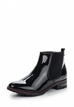 Полусапоги, Instreet, цвет: черный. Артикул: IN011AWENJ70. Женская обувь / Ботинки
