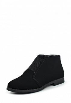 Ботинки, Instreet, цвет: черный. Артикул: IN011AWPMA27. Женская обувь / Ботинки