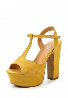 Босоножки, Janessa, цвет: желтый. Артикул: JA026AWSZE30. Janessa