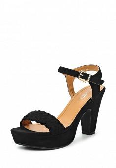 Босоножки, Janessa, цвет: черный. Артикул: JA026AWTUA99. Janessa