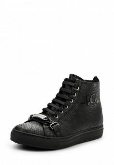 Кеды, John Galliano, цвет: черный. Артикул: JO658AWKIH89. Женщинам / Обувь / Кроссовки и кеды