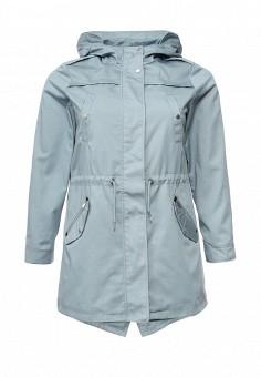 Парка, Junarose, цвет: голубой. Артикул: JU008EWOPJ70. Женская одежда / Верхняя одежда / Парки