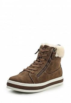 Кеды, Keddo, цвет: коричневый. Артикул: KE037AWKDY88. Женская обувь / Кроссовки и кеды